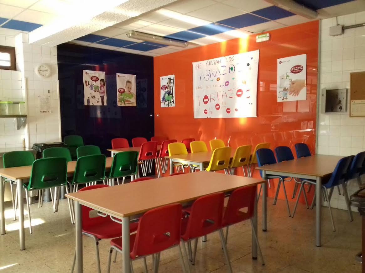 Comedor Escolar Del Colegio P Blico Ermitaga A School
