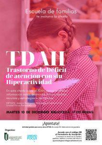 Charla sobre TDAH