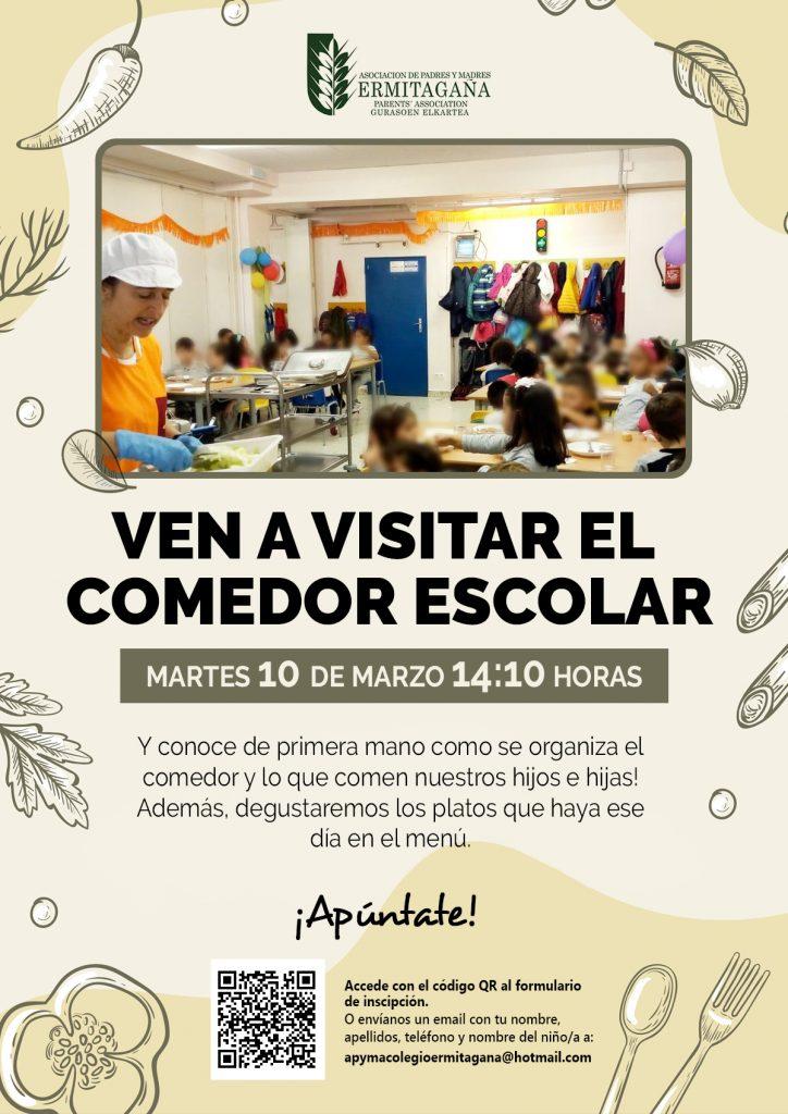Visita el comedor escolar