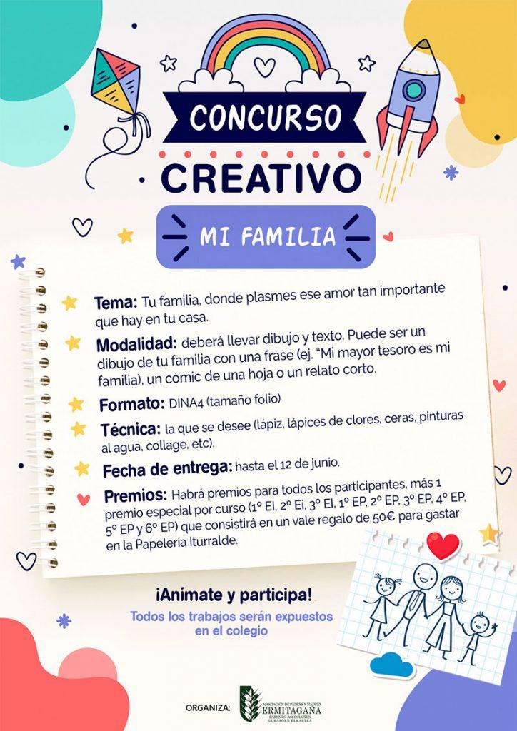 Cartel concurso creativo